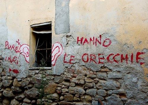 Scritte sui Muri ssssshh !