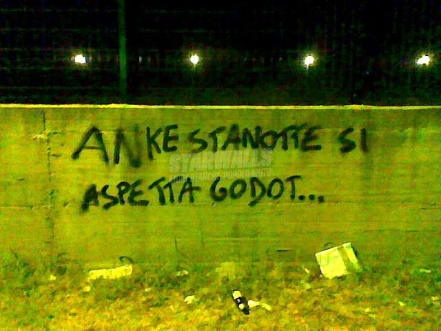 Scritte sui Muri In attesa