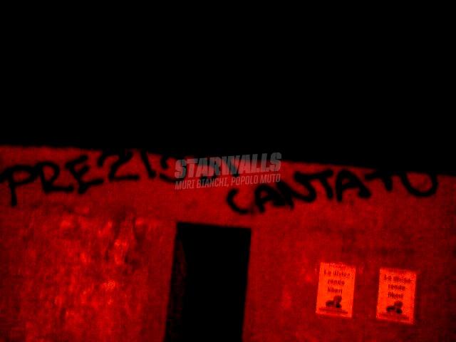 Scritte sui Muri karaoke rossoblù