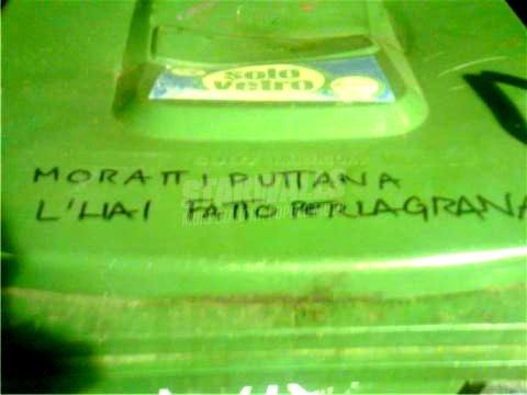 Scritte sui Muri Letizia Milano ti ama ..