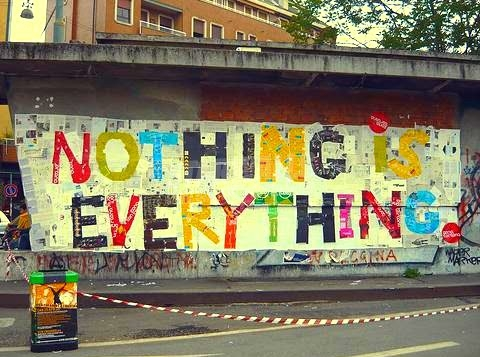Scritte sui Muri ... and everything is nothing