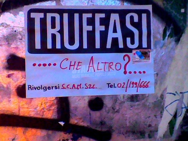 Scritte sui Muri The italian job