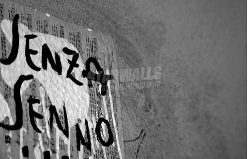Scritte sui Muri pazzia