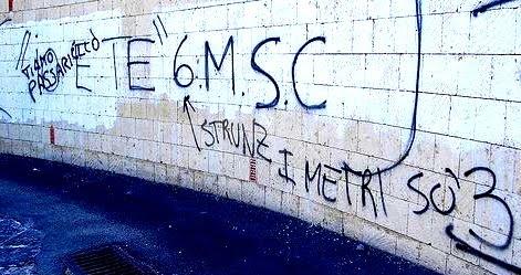 Scritte sui Muri Per amor di precisione
