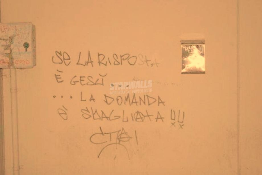 Scritte sui Muri Riformulare il quesito