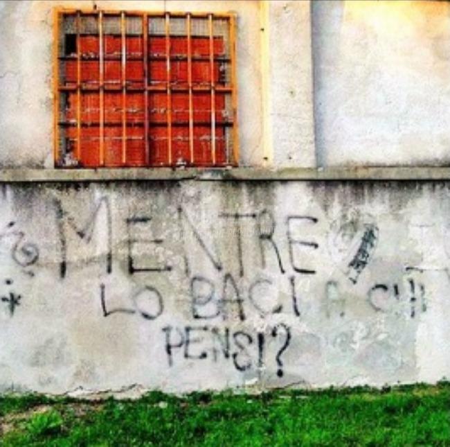 Scritte sui Muri Sgamata