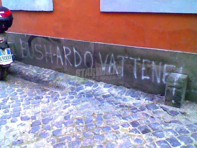 Scritte sui Muri Stop George