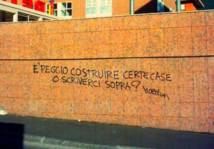 Scritte sui Muri Ecomostro