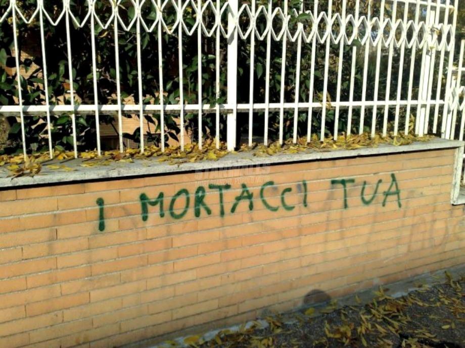 Scritte sui Muri Mannaggia attè