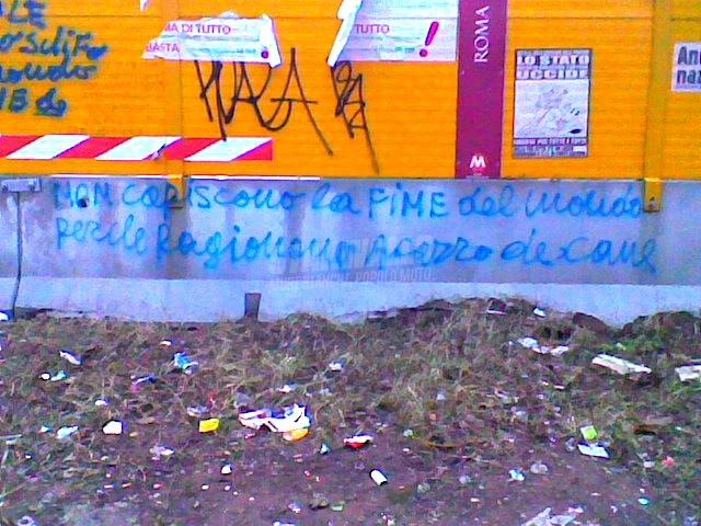 Scritte sui Muri profezia incompresa