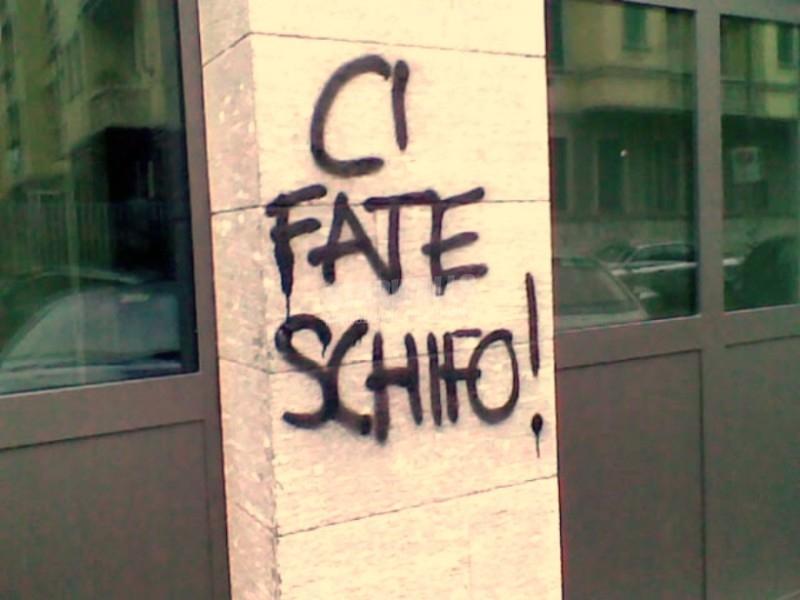 Scritte sui Muri Benvenuti nel quartiere