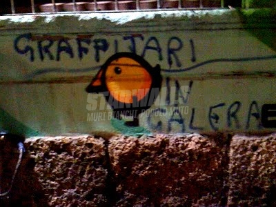 Scritte sui Muri Criminali!