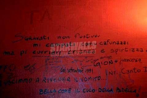 Scritte sui Muri Dante reggino