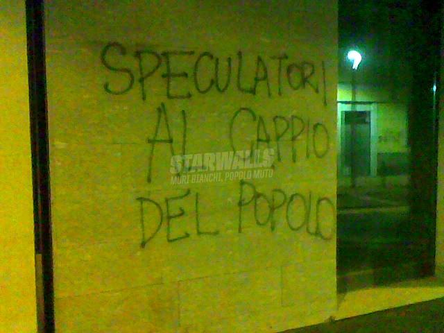 Scritte sui Muri Giustizia sommaria