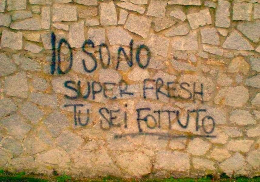 Scritte sui Muri Mi sa che non ce la fai