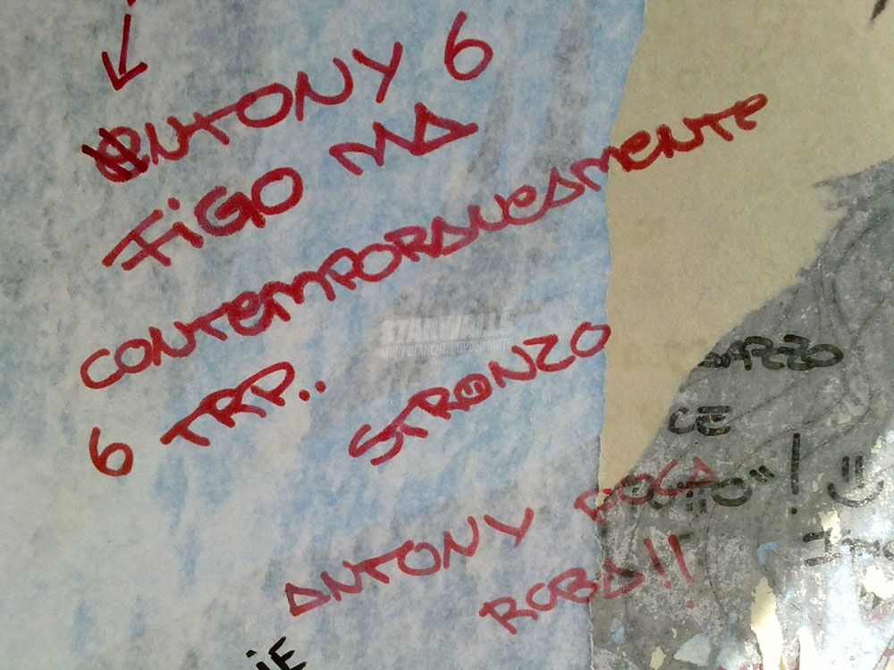 Scritte sui Muri Antony poca roba