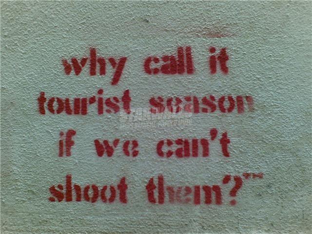 Scritte sui Muri Okupa y resiste