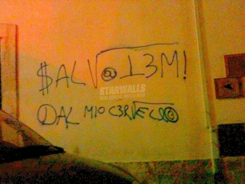 Scritte sui Muri Paranoia