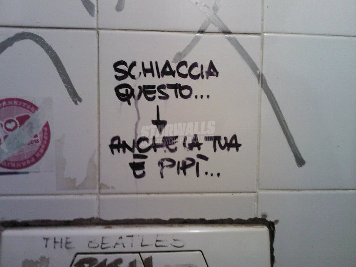 Scritte sui Muri Solo quella dei neonati è santa