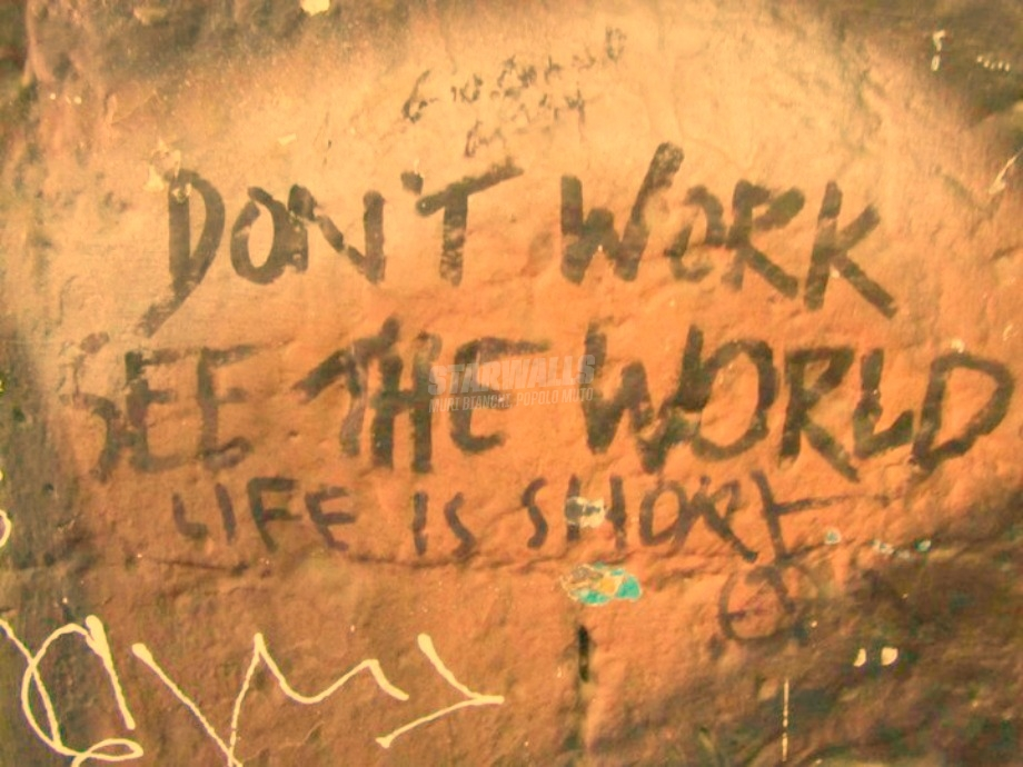 Scritte sui Muri Change your world