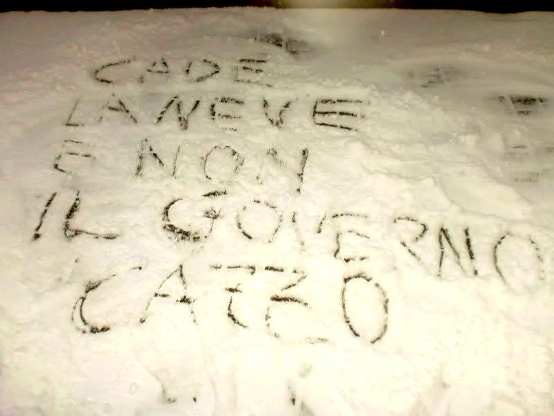 Scritte sui Muri Inverno rigido
