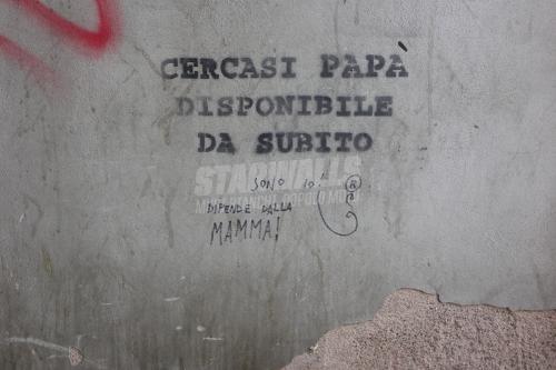 Scritte sui Muri Rapporto a progetto