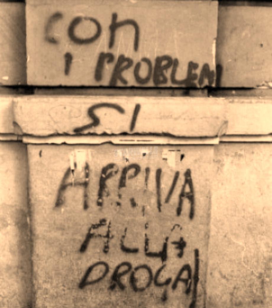 Scritte sui Muri Messaggio reversibile