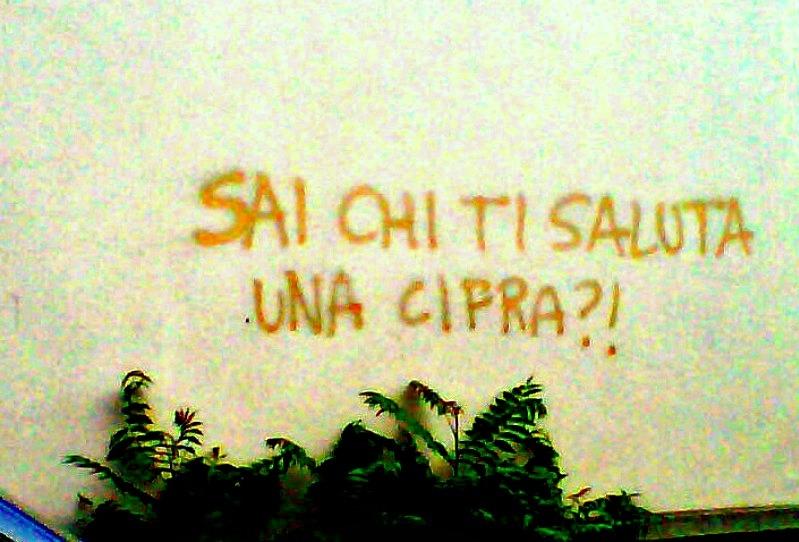 Scritte sui Muri Stoc...ooo !!!