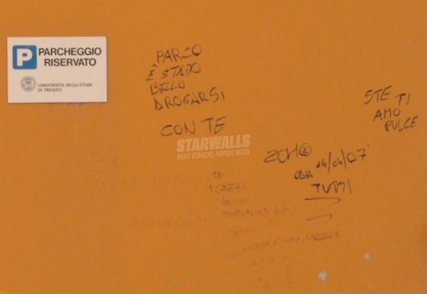 Scritte sui Muri Gratitudine