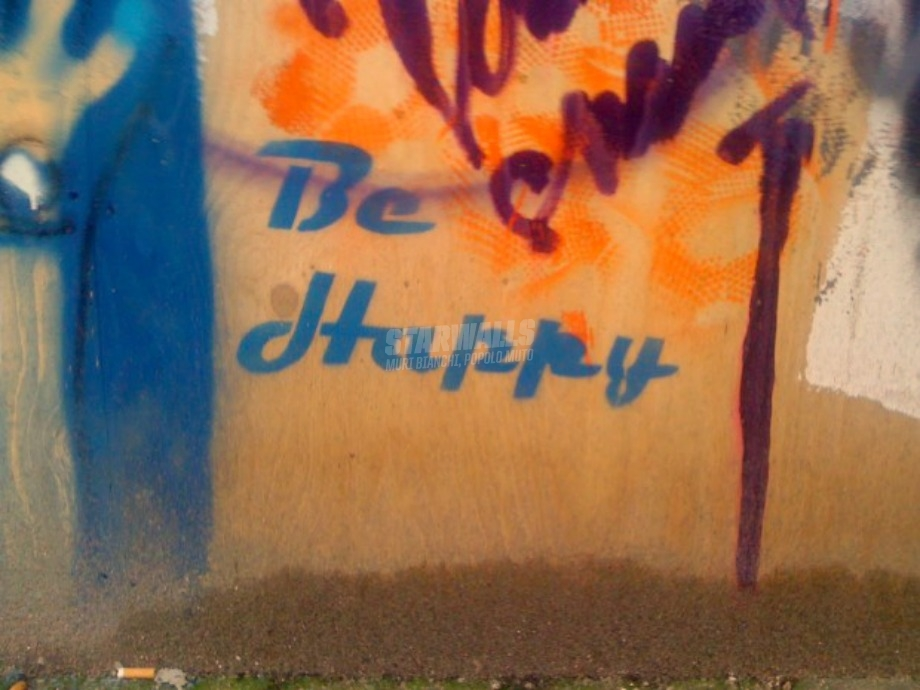 Scritte sui Muri Don't worry