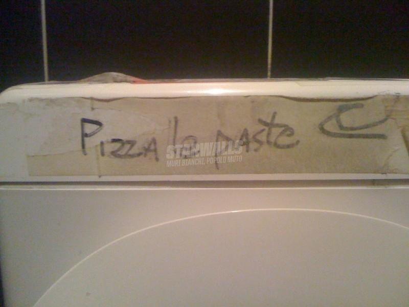 Scritte sui Muri Tossico gastronomico