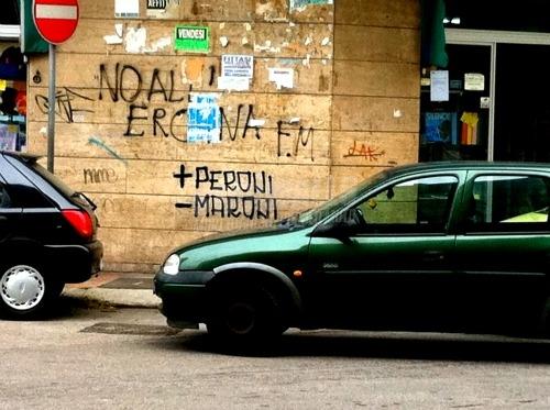 Scritte sui Muri Zona deleghistizzata
