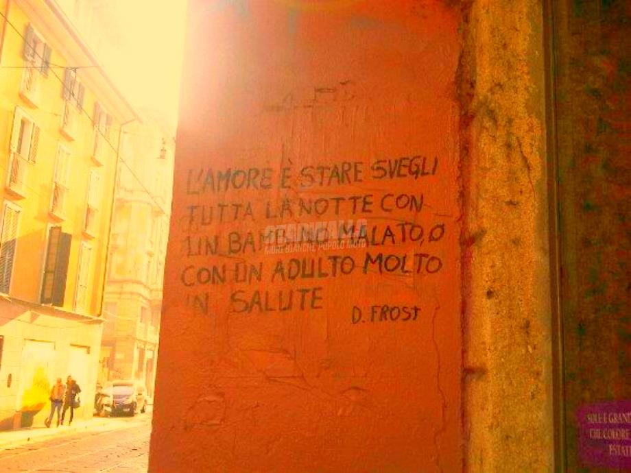 Scritte sui Muri Aforismi