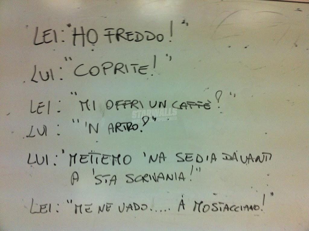 Scritte sui Muri Gente confusa