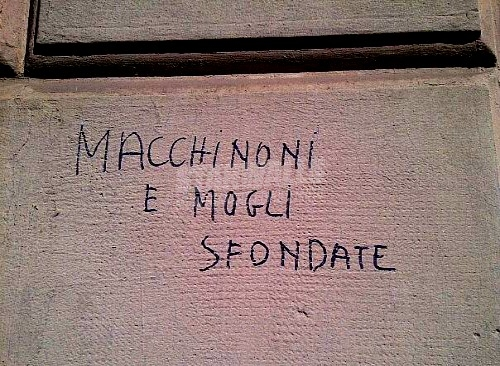 Scritte sui Muri Italians
