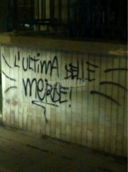 Scritte sui Muri The last (but not the least)