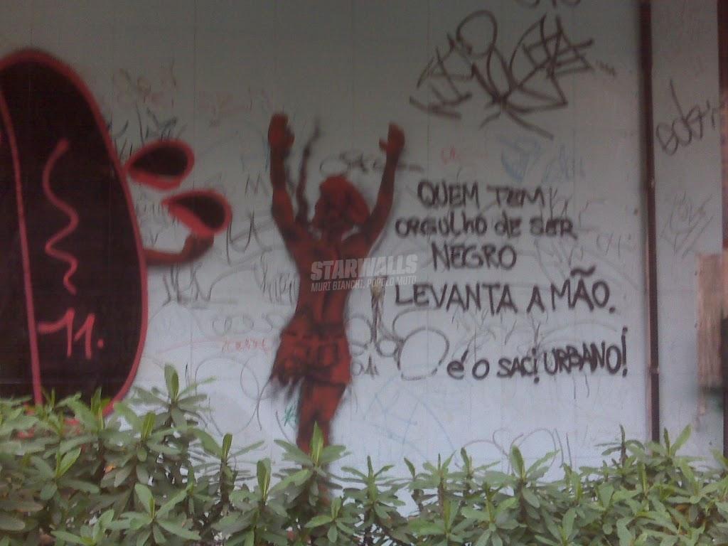 Scritte sui Muri Black power @Sao Paulo