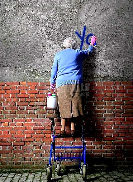 Scritte sui Muri Original ghetto girl