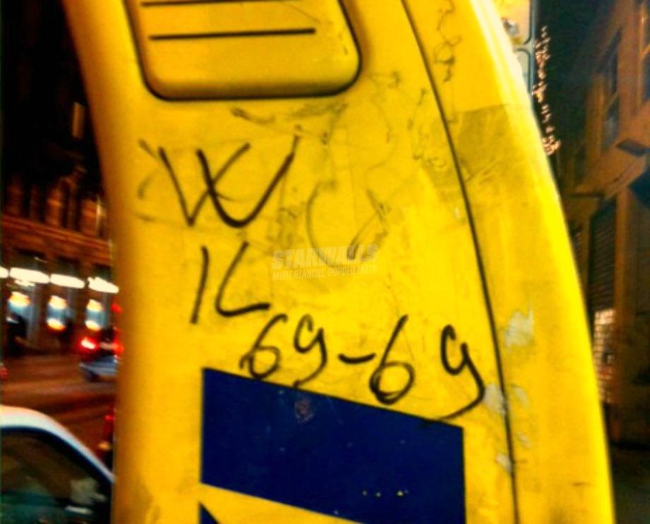 Scritte sui Muri Radio Taxi Hot
