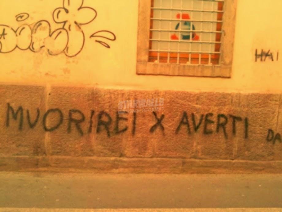 Scritte sui Muri Muorire per amore