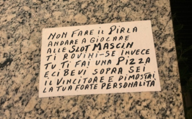 Scritte sui Muri Pizzaiolo saggio