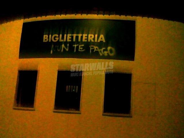 Scritte sui Muri Il portoghese