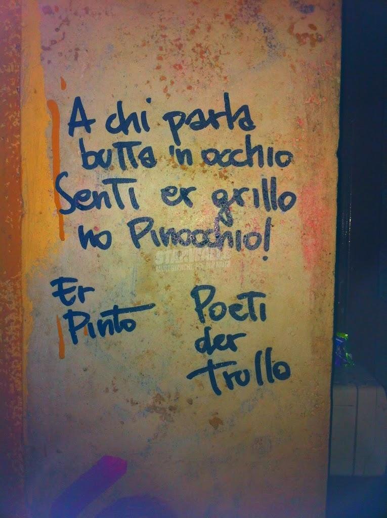 Scritte sui Muri Senti chi parla