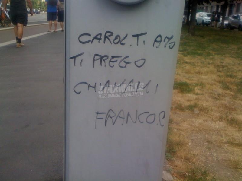Scritte sui Muri Chiamami franco