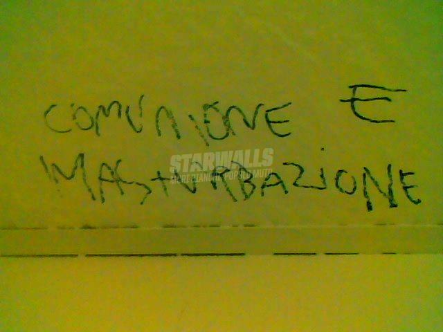 Scritte sui Muri Formigoni bipartisan