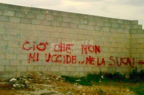 Scritte sui Muri Nietzsche de noantri