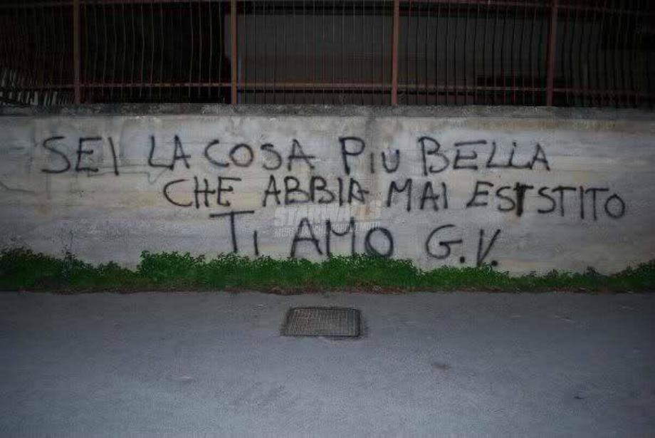 Scritte sui Muri Amori itagliani cap. II