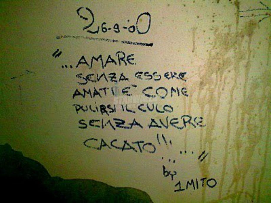 Scritte sui Muri L'amore non ricambiato