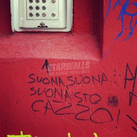 Scritte sui Muri Scherzi citofonici