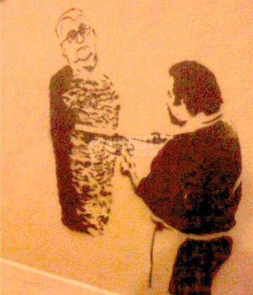 Scritte sui Muri Kebab padano (Un Borghezio completo)